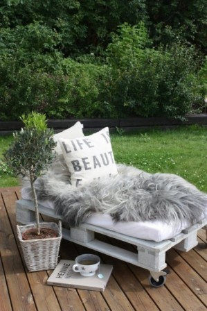 Дизайн сада и огорода своими руками: зона отдыха