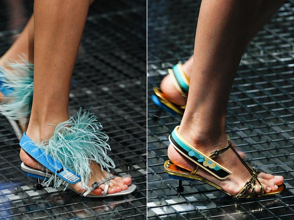 Модная обувь 2018г женская