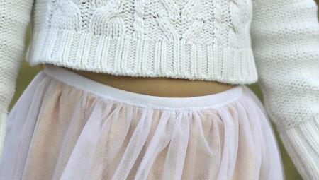 Как сшить юбку в пол из фатина: шаг 5