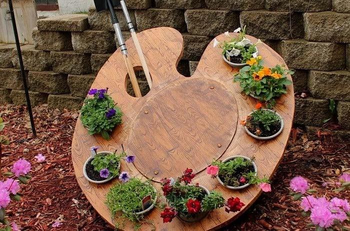 Дизайн сада и огорода своими руками: палитра