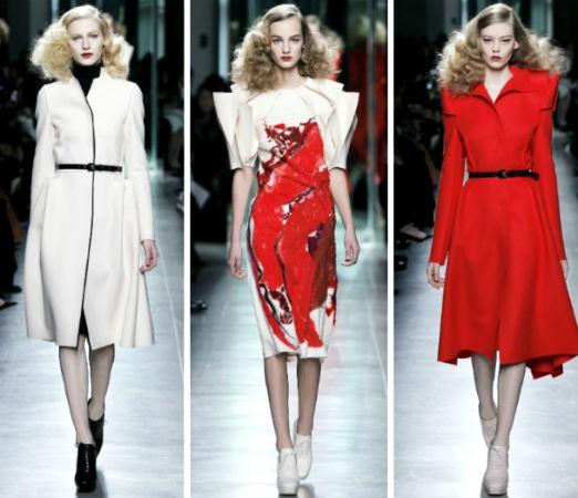 Мода весна лето 2017 тенденции: платья с большими плечами
