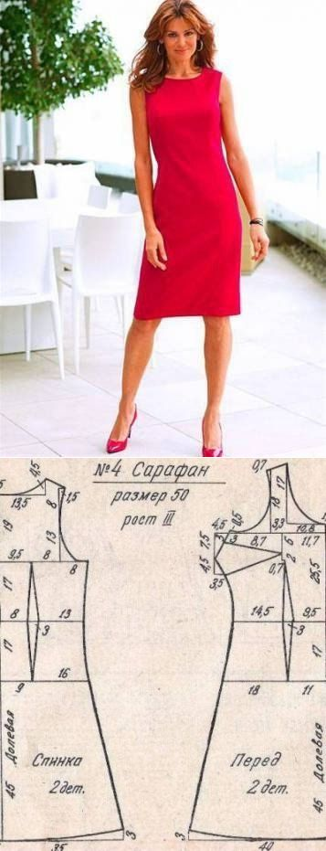 Выкройки платьев для начинающих (3)