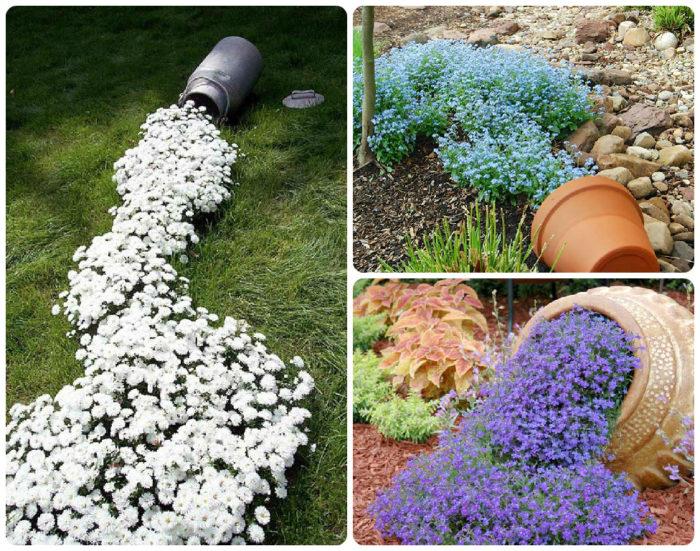 Дизайн сада и огорода своими руками: цветники