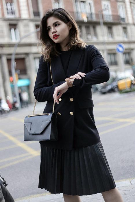 Мода весна лето 2017 тенденции: жакет с юбкой