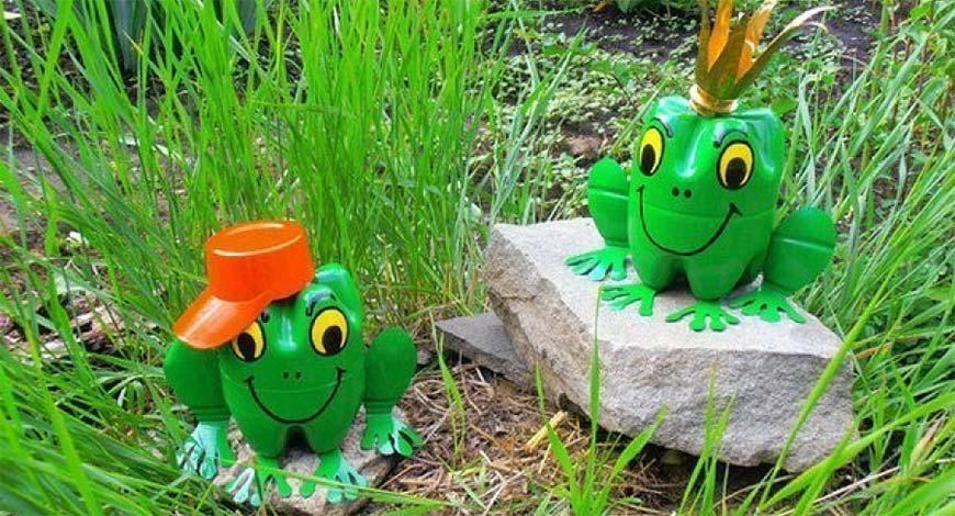 Дизайн сада и огорода своими руками: лягушки