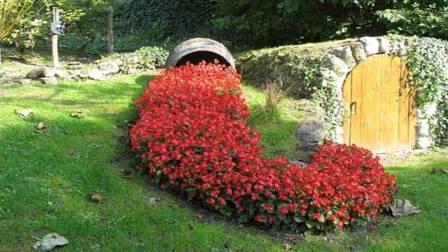 Дизайн сада и огорода своими руками: цветочный ручей