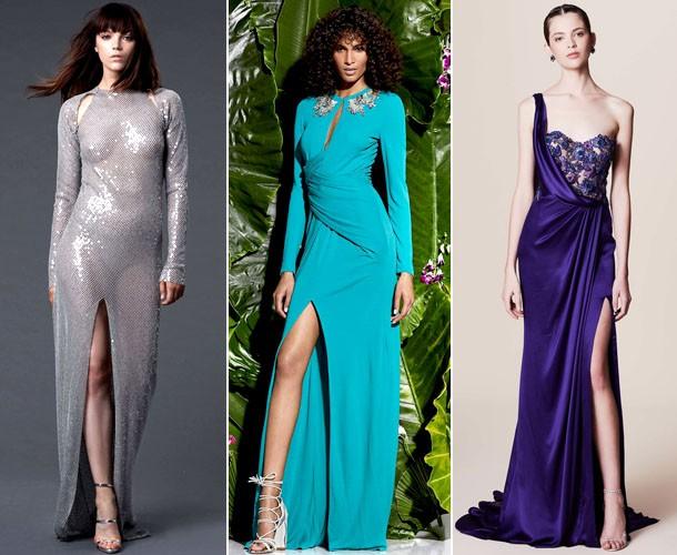 Мода весна лето 2017 тенденции: платья с разрезом
