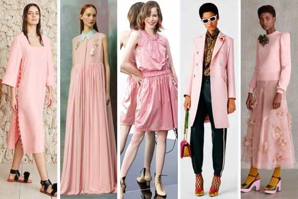 Модные цвета 2017 года: пыльная роза