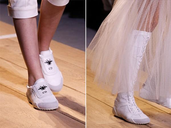 Модная обувь весна-лето 2017: кроссовки