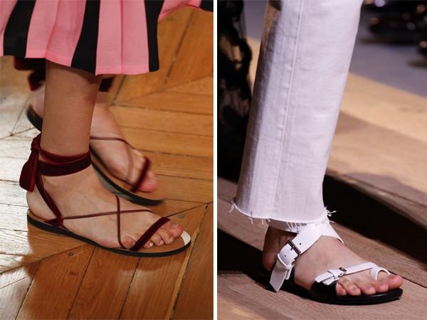 Модная обувь весна-лето 2017: сандалии