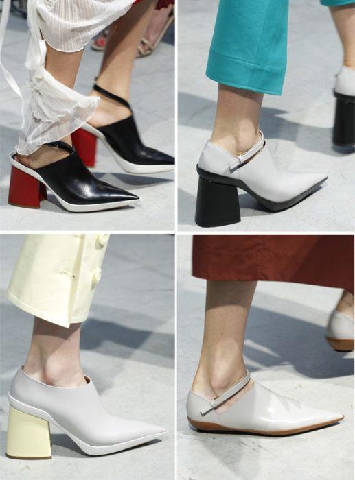 Модная обувь весна-лето 2017: острый носок