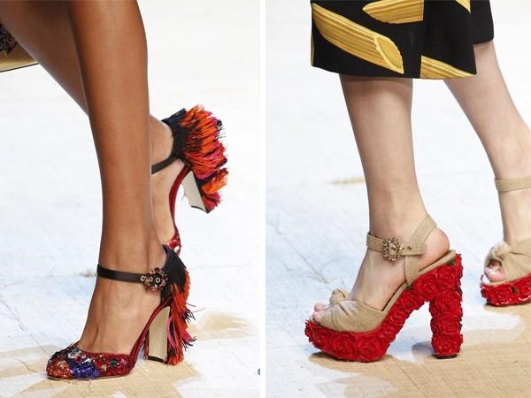 Модная обувь весна-лето 2017: туфли с декором