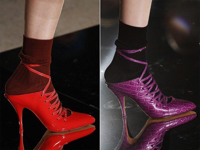 Модная обувь весна-лето 2017: туфли без задников