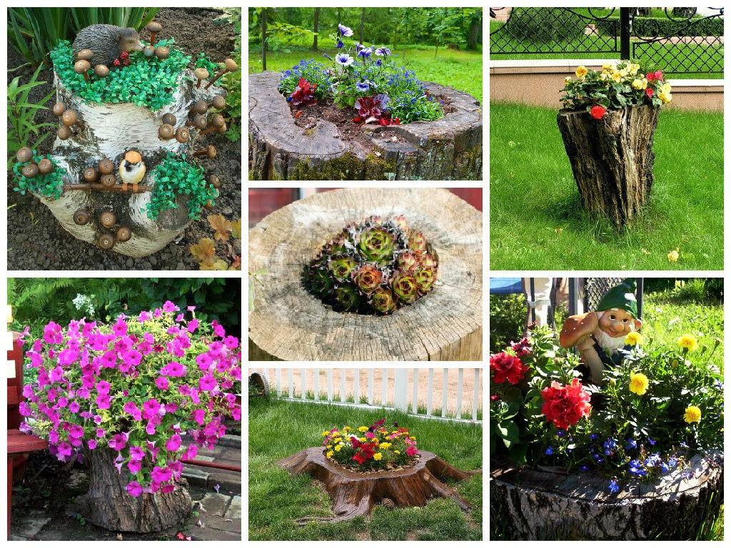 Украшаем сад своими руками 17