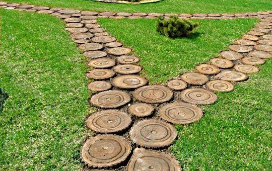 Дизайн сада и огорода своими руками: дорожки