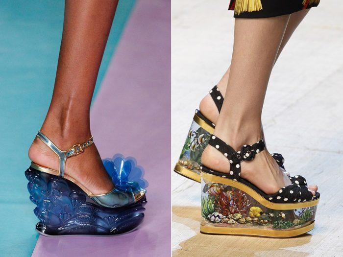 Модная обувь весна-лето 2017: необычный декор