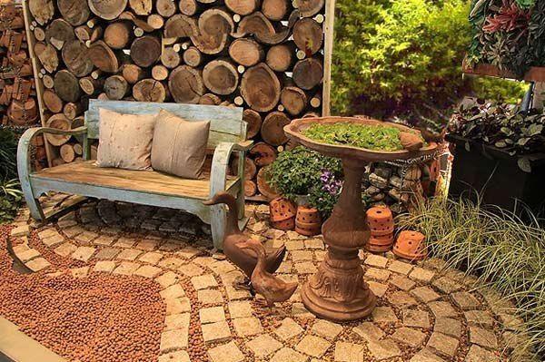 Дача сад огород: декоративный уголок
