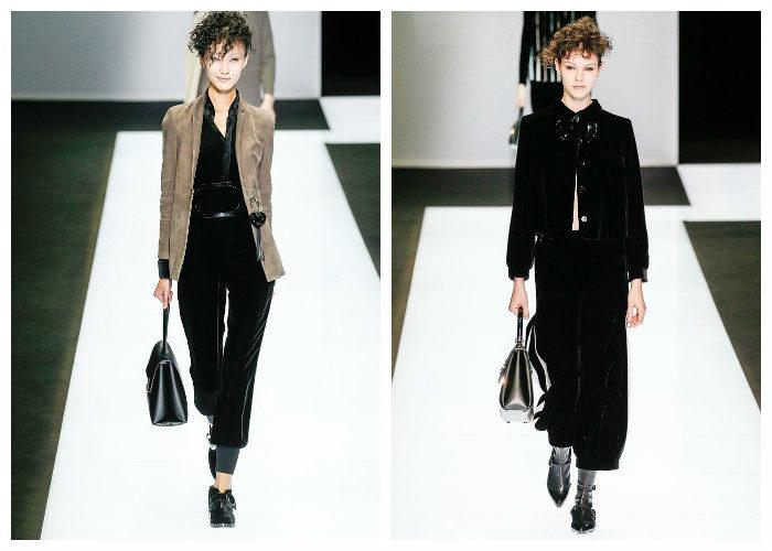 Мода 2017 года фото: велюр и бархат