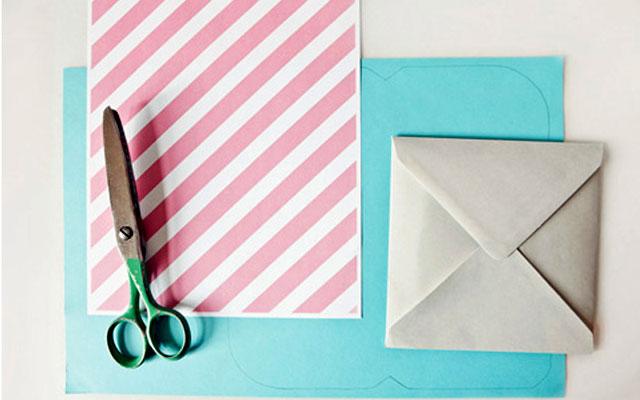 Как сделать конверт из бумаги: материалы