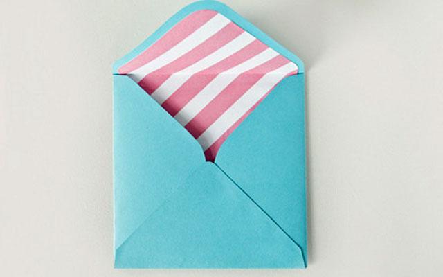 Как сделать конверт из бумаги: шаг 5