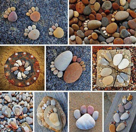 Дачные поделки своими руками для украшения сада: из камня