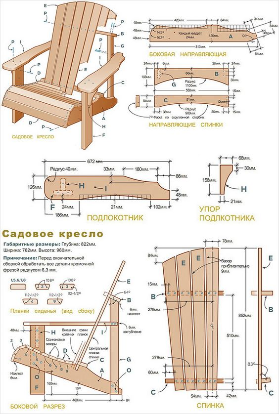 Кресла своими руками в домашних условиях