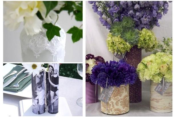 Подарок бабушке своими руками: вазочки