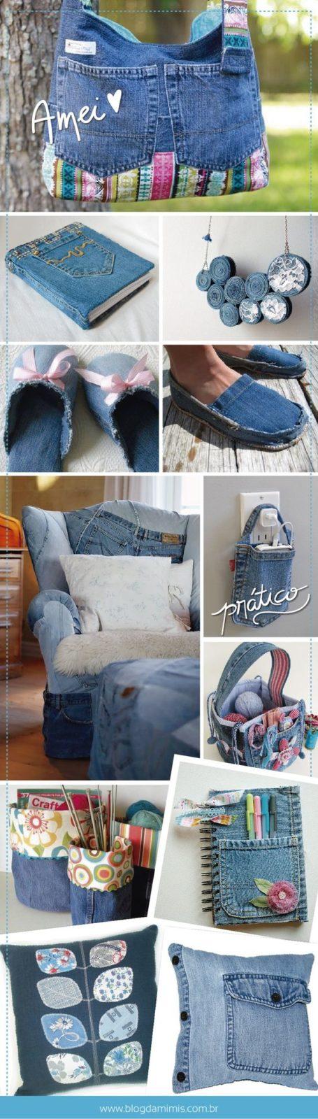 Что можно сделать из джинсов своими руками?