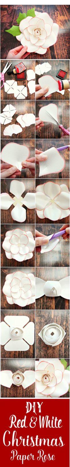Цветы из бумаги своими руками: схемы (5)