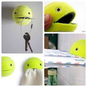 Что можно сделать своими руками: подставка из мяча