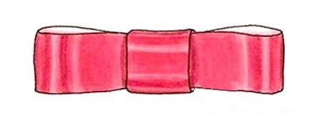 Бантики из атласных лент: строгий бант