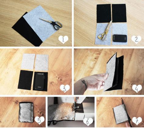 Как сделать чехол-книжку на телефон