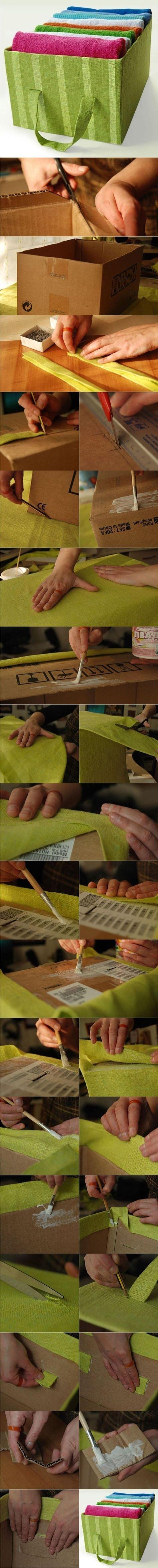 Самоделки своими руками: органайзер для текстиля