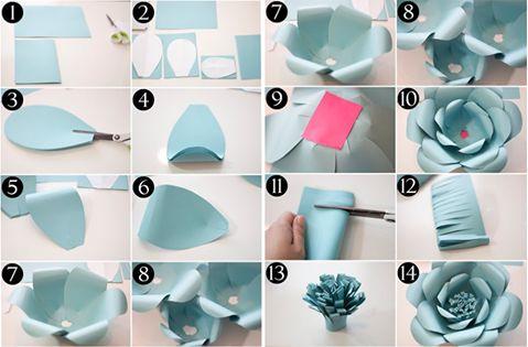 Розы из бумаги своими руками для начинающих фото 8