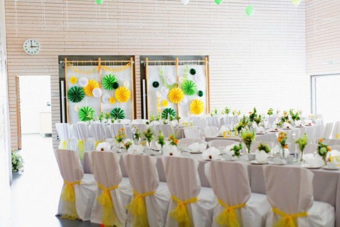 Цветы из бумаги для украшения
