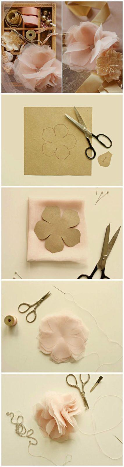 Цветы из бумаги своими руками: схемы (9)