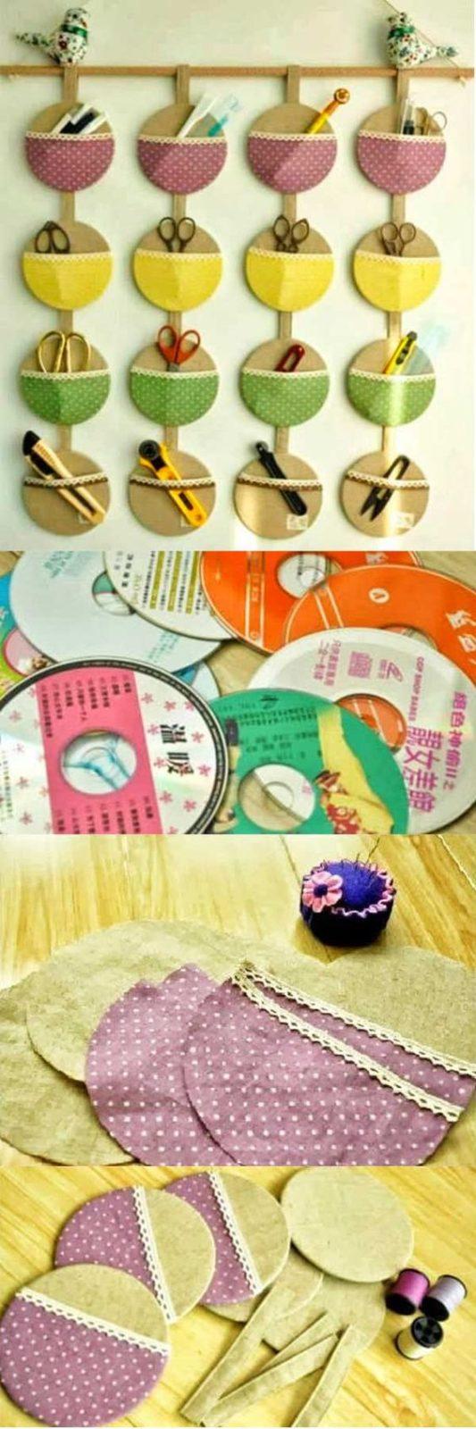 Самоделки своими руками: круглые кармашки