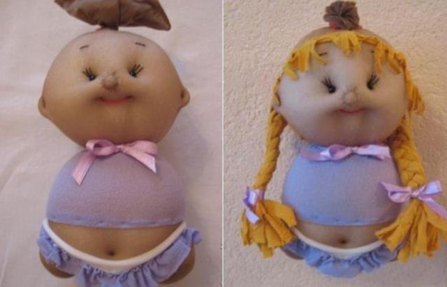 Что можно сделать из колгот своими руками: куклы