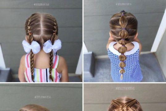 Красивые варианты причесок для девочек
