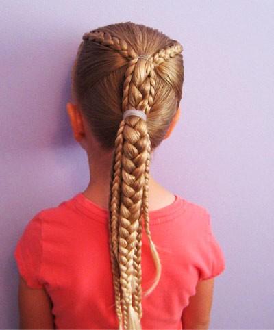 Прически для девочек в школу: косички