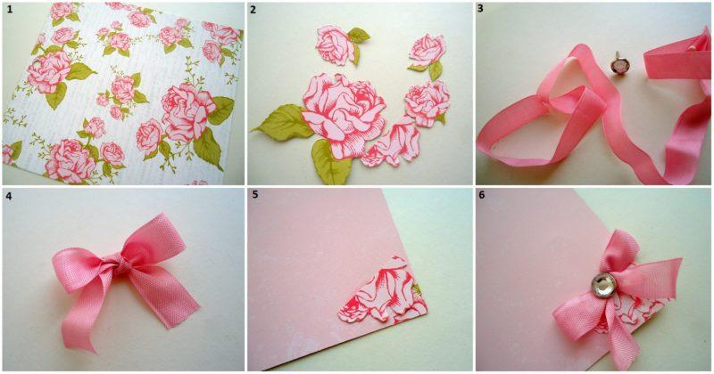 Как сделать из бумаги цветок скрапбукинг