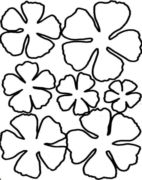 Аппликация из бумаги для детей шаблоны Tрафарет Pinterest 1