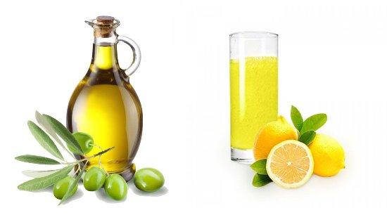 Средства от перхоти: оливковое масло и лимон