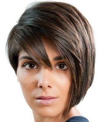 Стрижки на короткие волосы: асимметрия
