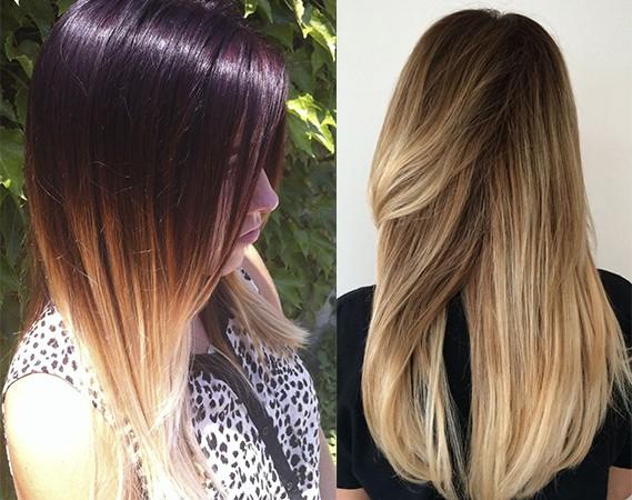 Модное окрашивание волос в 2017 году: омбре и сомбре
