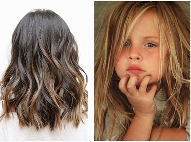 Модное окрашивание волос в 2017 году: Babylights