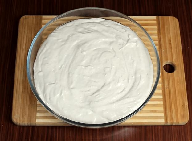Запеканка творожная – рецепт в духовке с манкой (шаг 7)