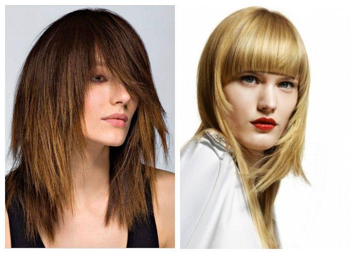 Модные женские стрижки для длинных волос 2017: градуированные
