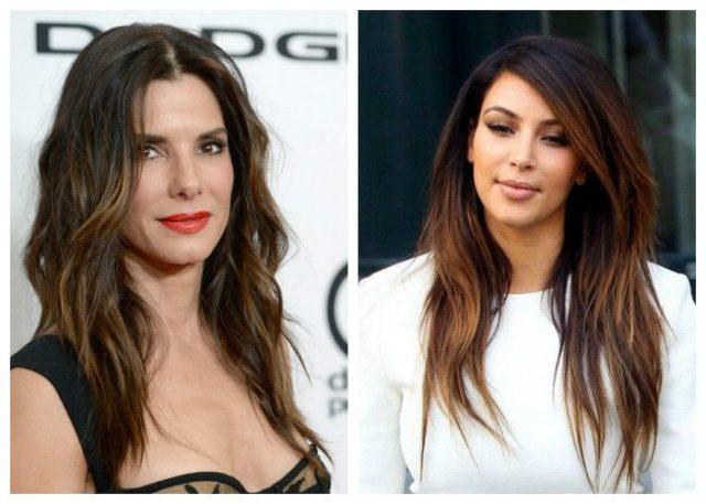 Прически которые молодят длинные волосы