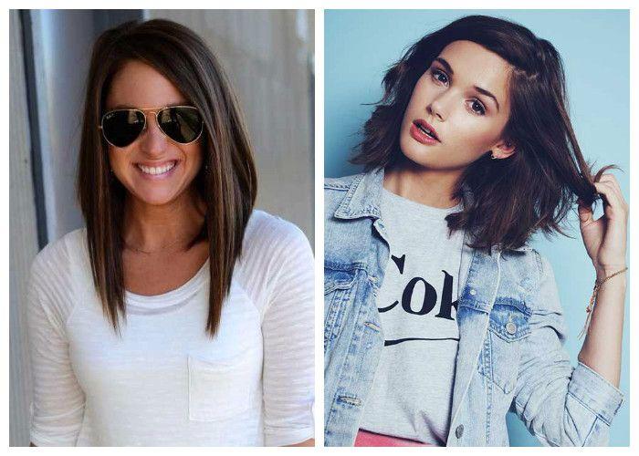 Модные женские стрижки для длинных волос 2017: удлиненный боб